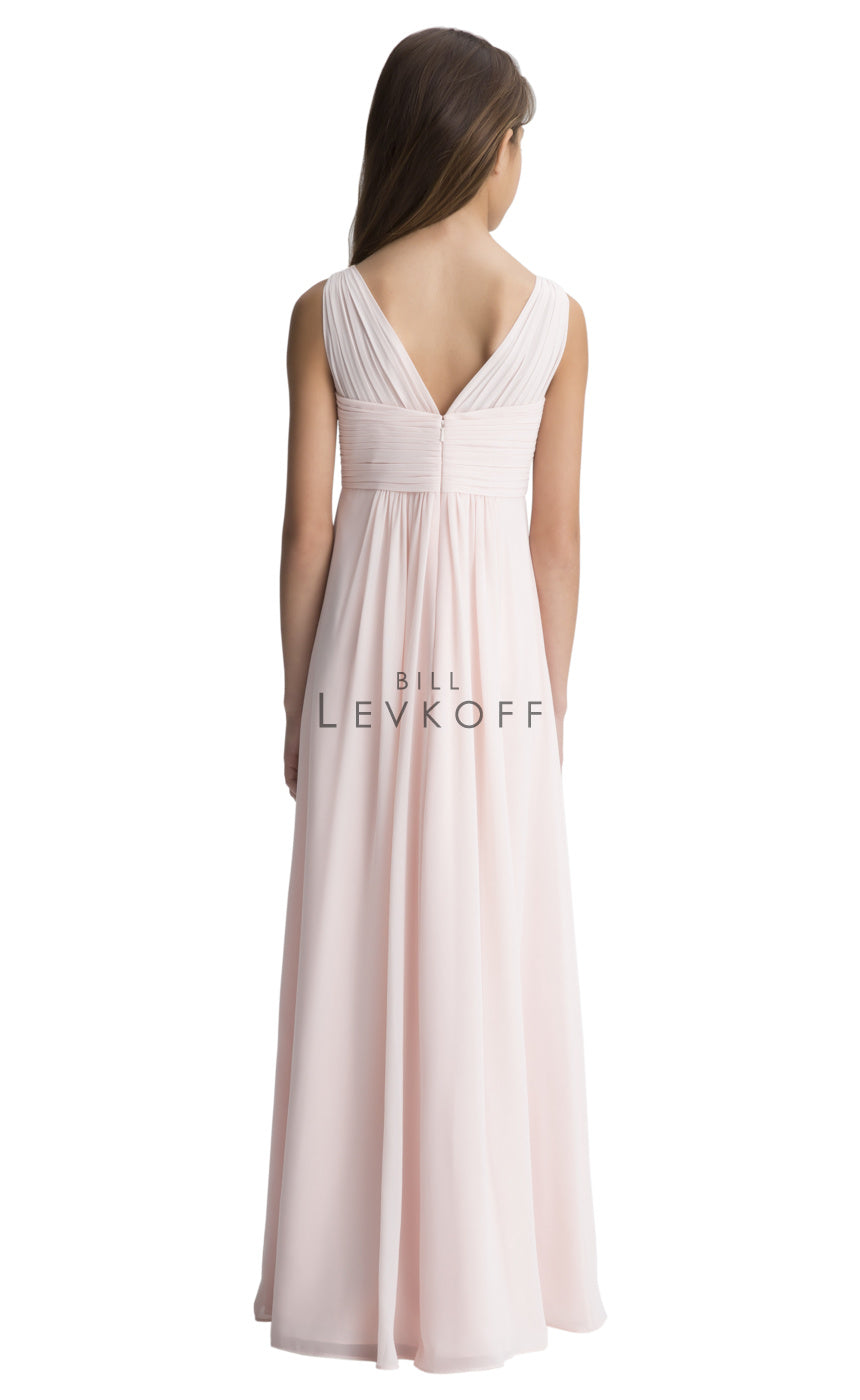 Bill Levkoff Junior Bridesmaid Dress Style 111502 back