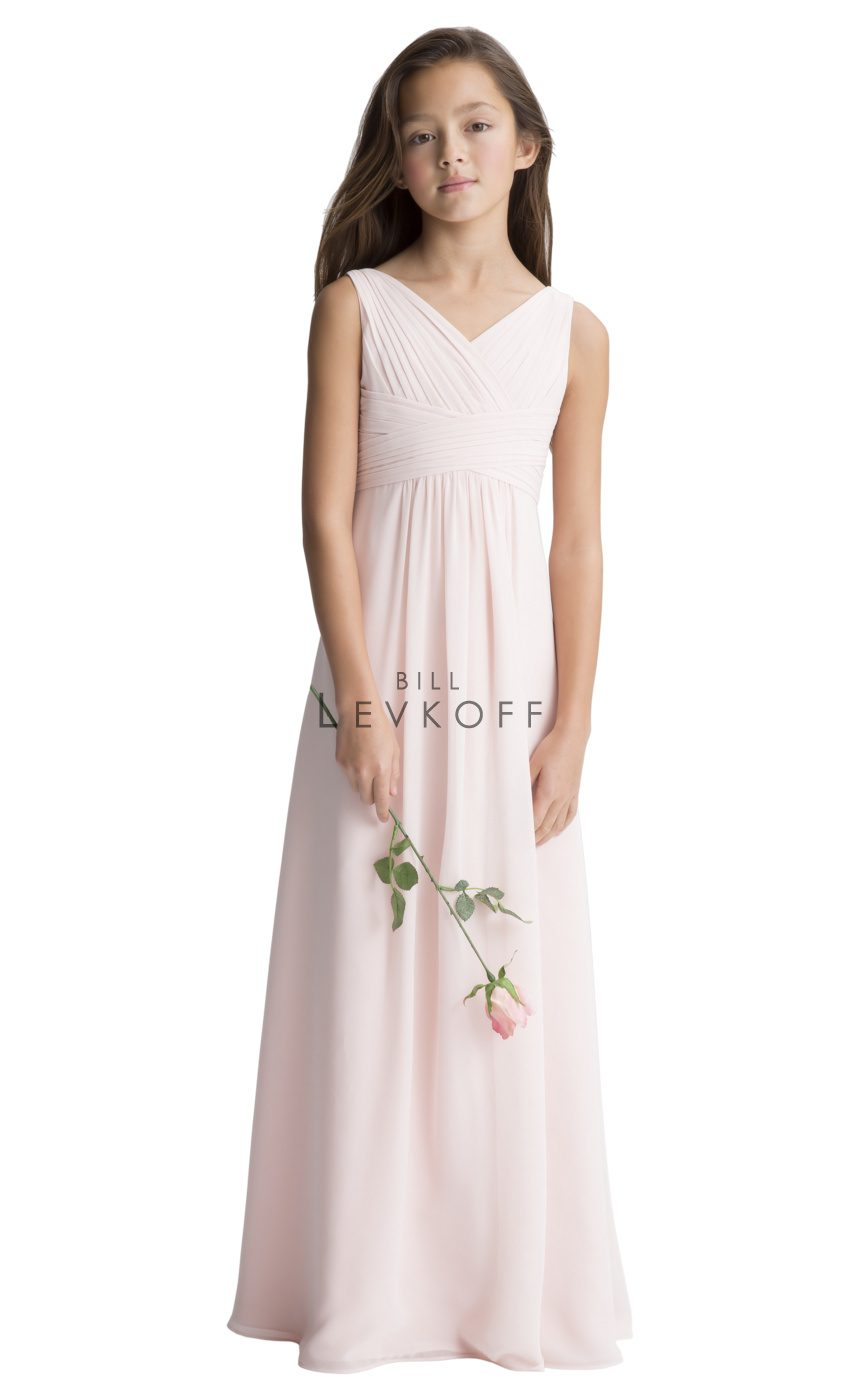 Bill Levkoff Junior Bridesmaid Dress Style 111502 front
