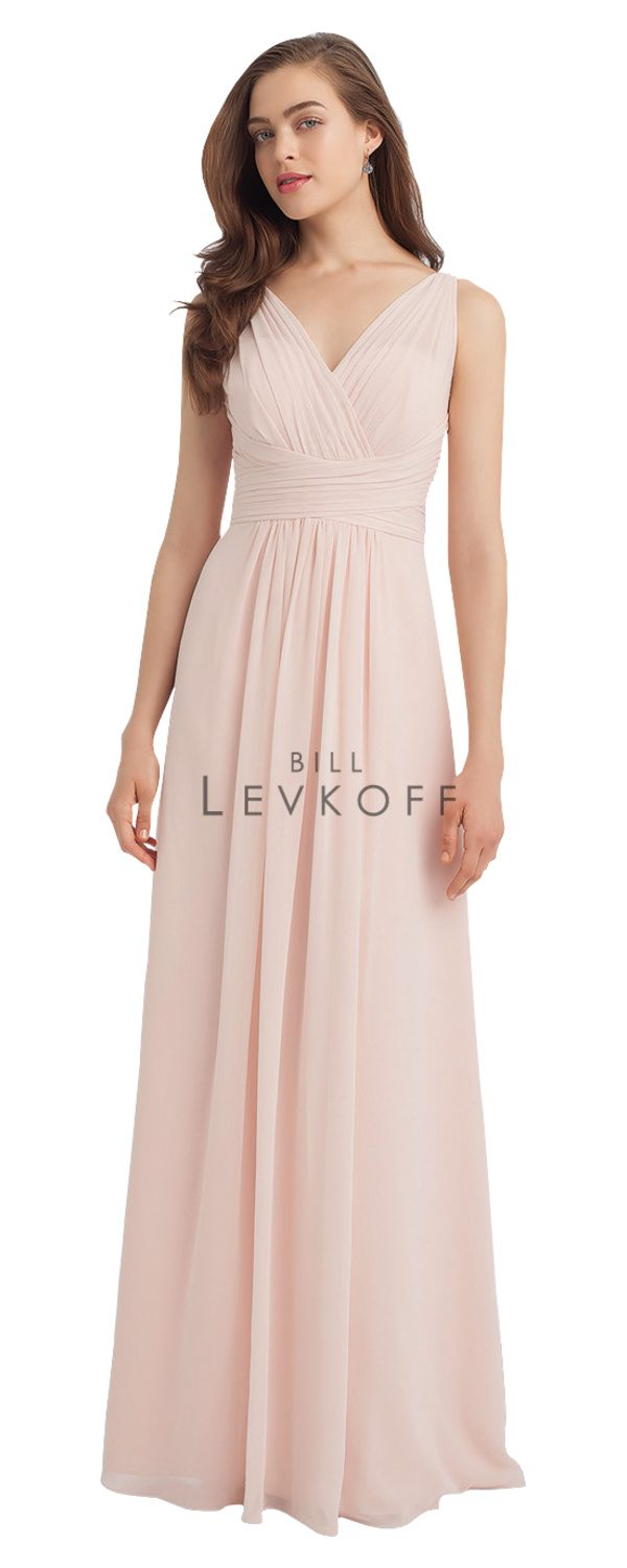 Bill Levkoff Bridesmaid Dress Style 1115 front