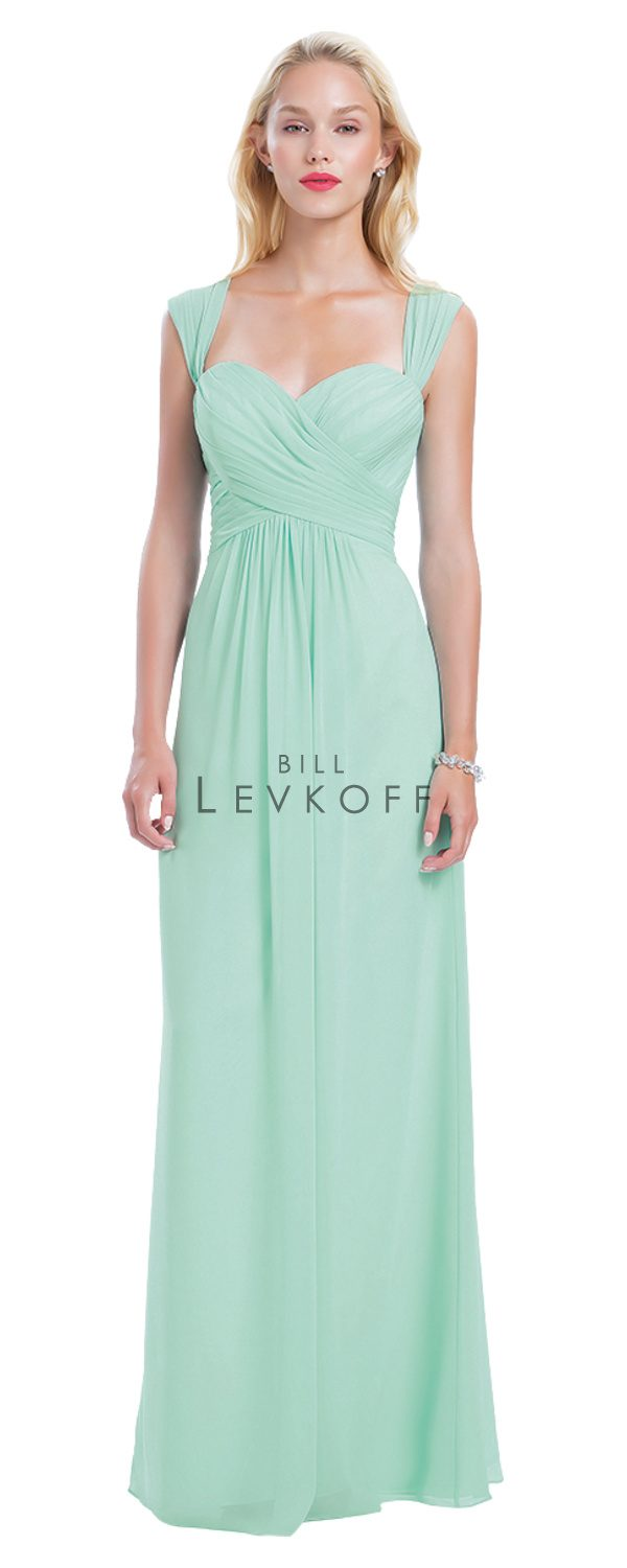 Bill Levkoff Bridesmaid Dress Style 1160 front