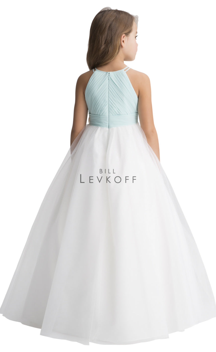#LEVKOFF Flower Girl Dress Style 116101 back