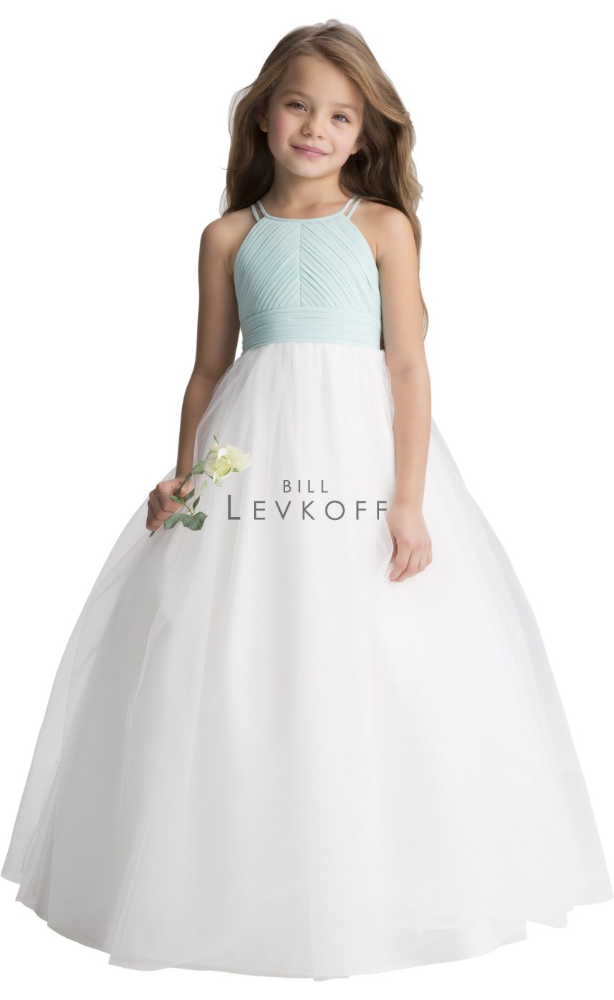 #LEVKOFF Flower Girl Dress Style 116101 front