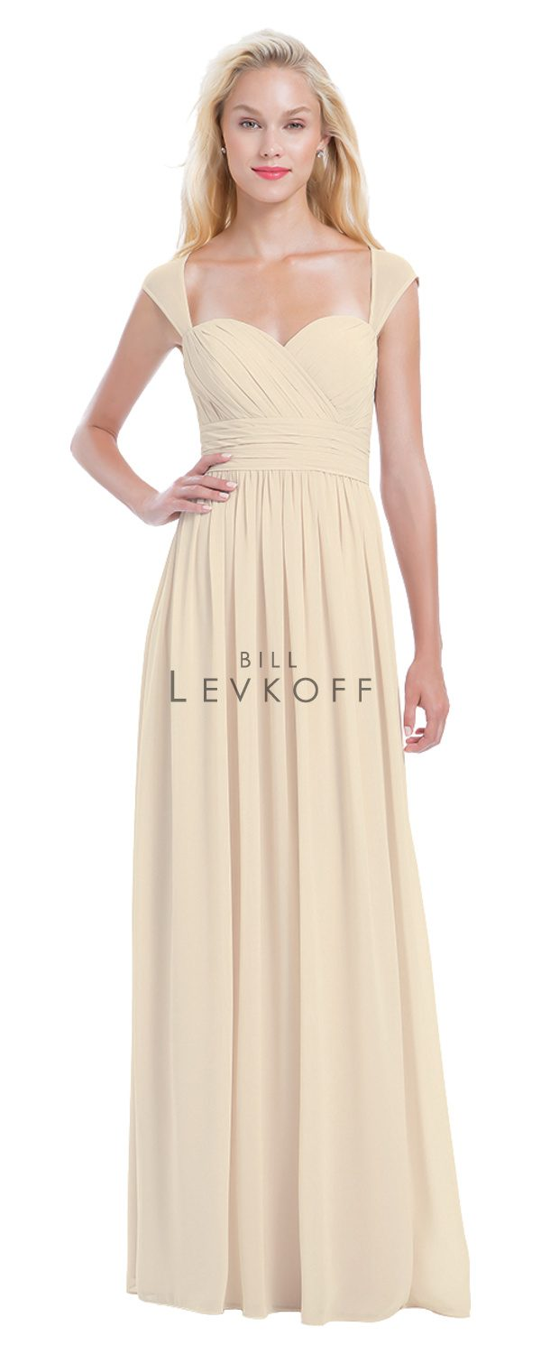 Bill Levkoff Bridesmaid Dress Style 1163 front