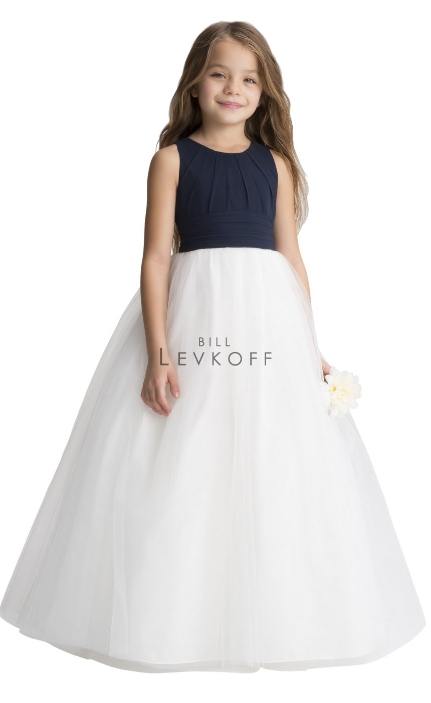#LEVKOFF Flower Girl Dress Style 116501 front