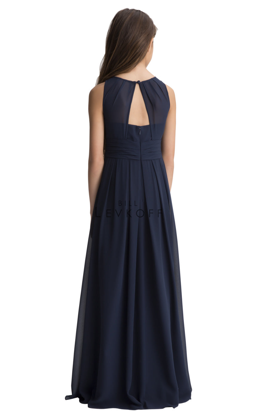 #LEVKOFF Junior Bridesmaid Dress Style 116502 back