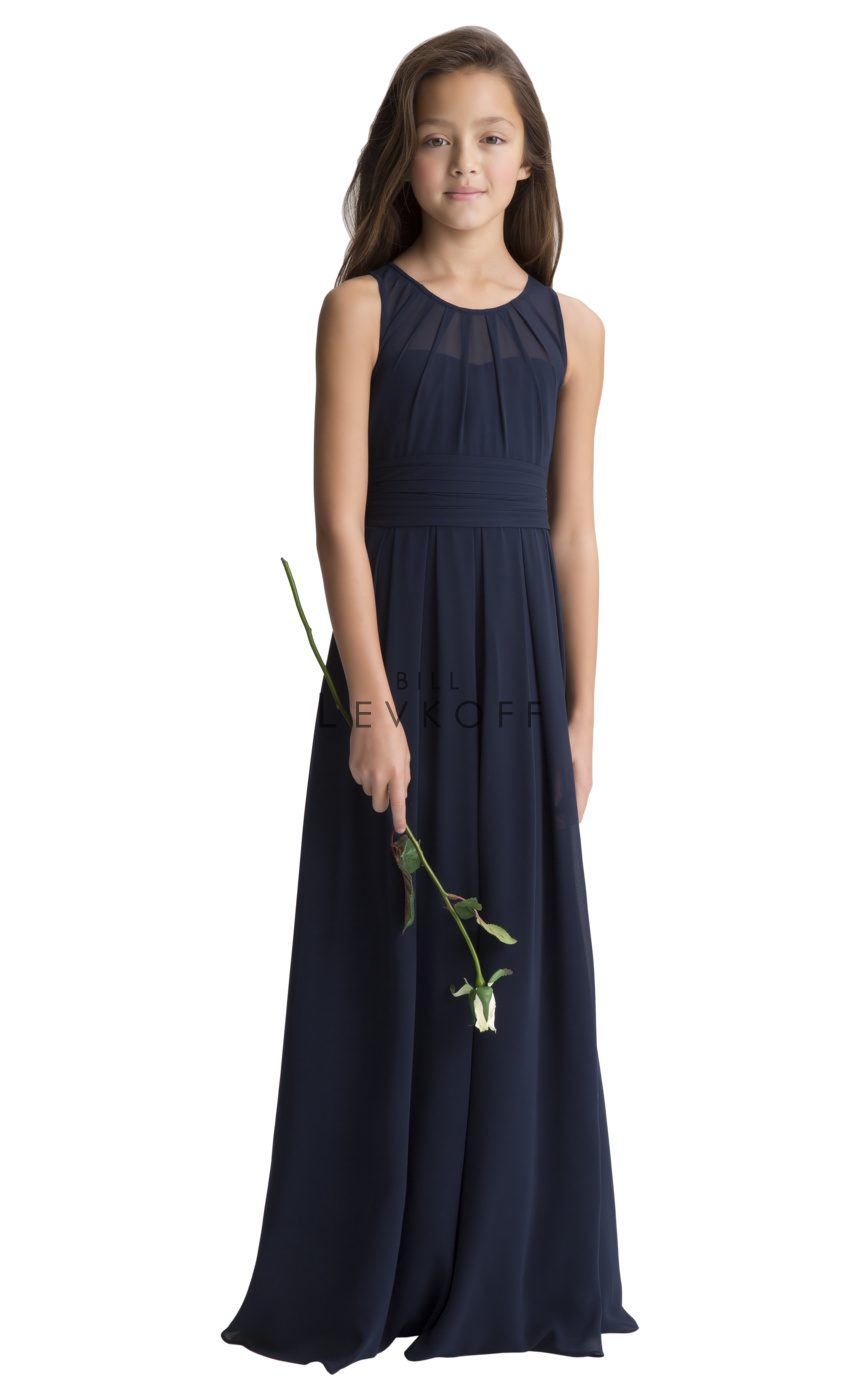 #LEVKOFF Junior Bridesmaid Dress Style 116502 front