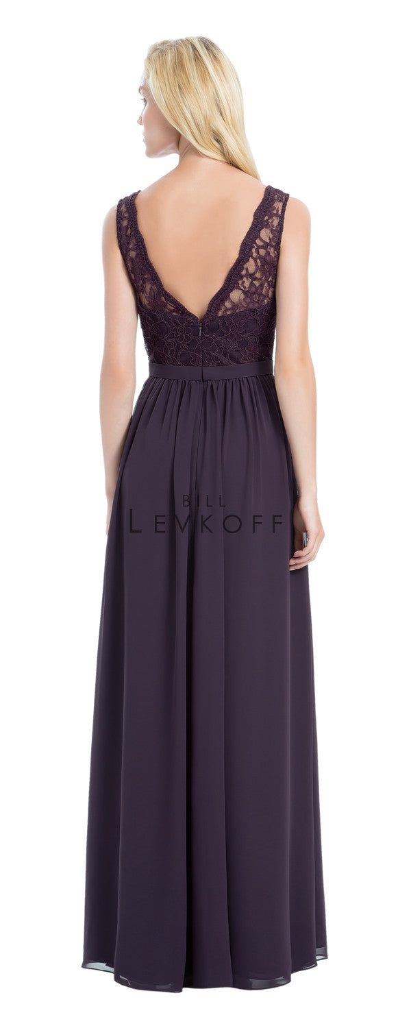 Bill Levkoff Bridesmaid Dress Style 1172 back