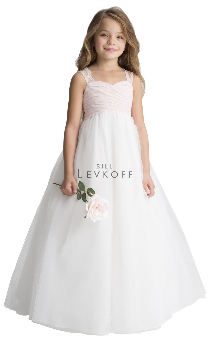 #LEVKOFF Flower Girl Dress Style 117301 front