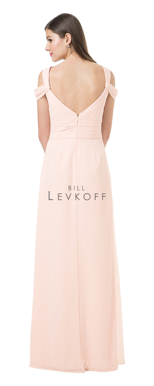 Bill Levkoff Bridesmaid Dress Style 1201 back
