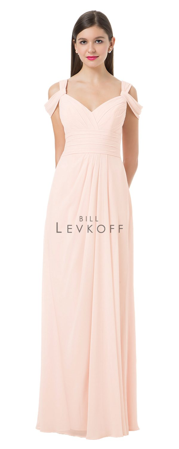 Bill Levkoff Bridesmaid Dress Style 1201 front
