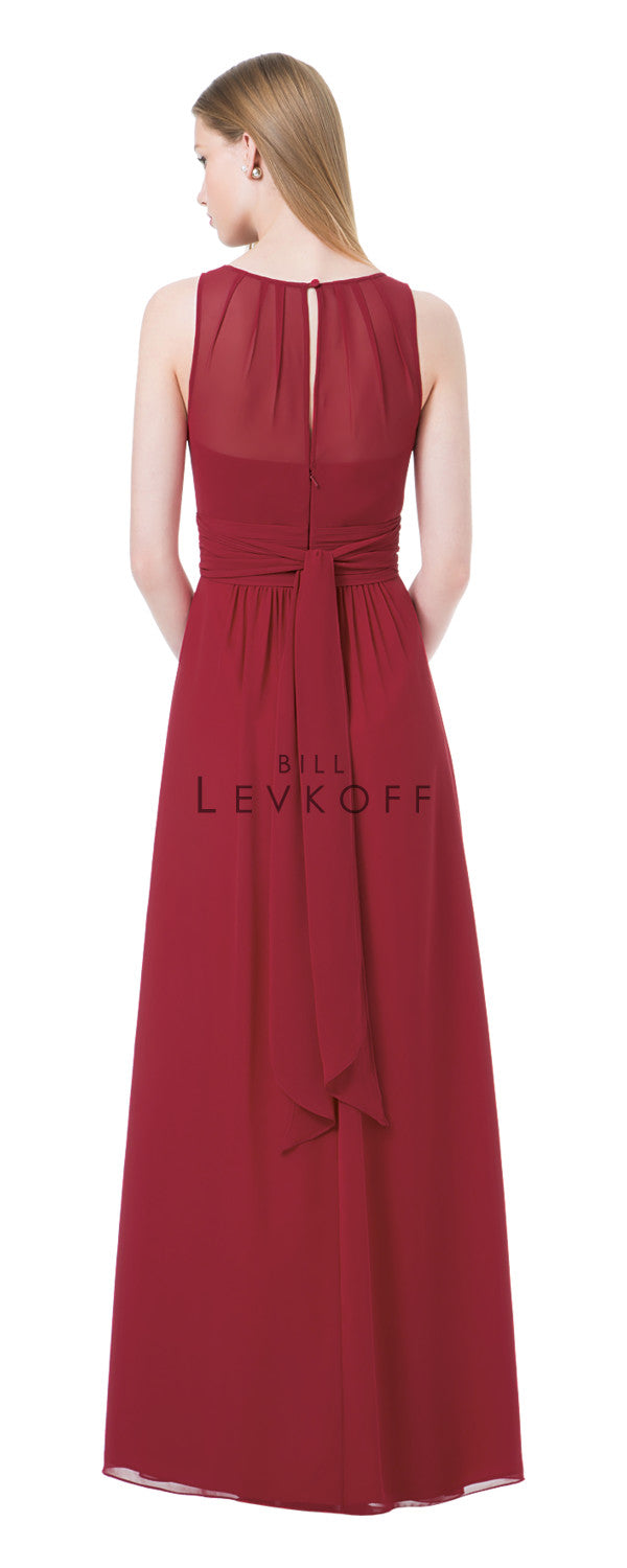 Bill Levkoff Bridesmaid Dress Style 1204 back