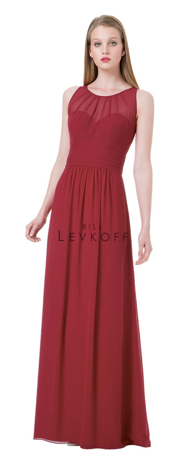 Bill Levkoff Bridesmaid Dress Style 1204 front