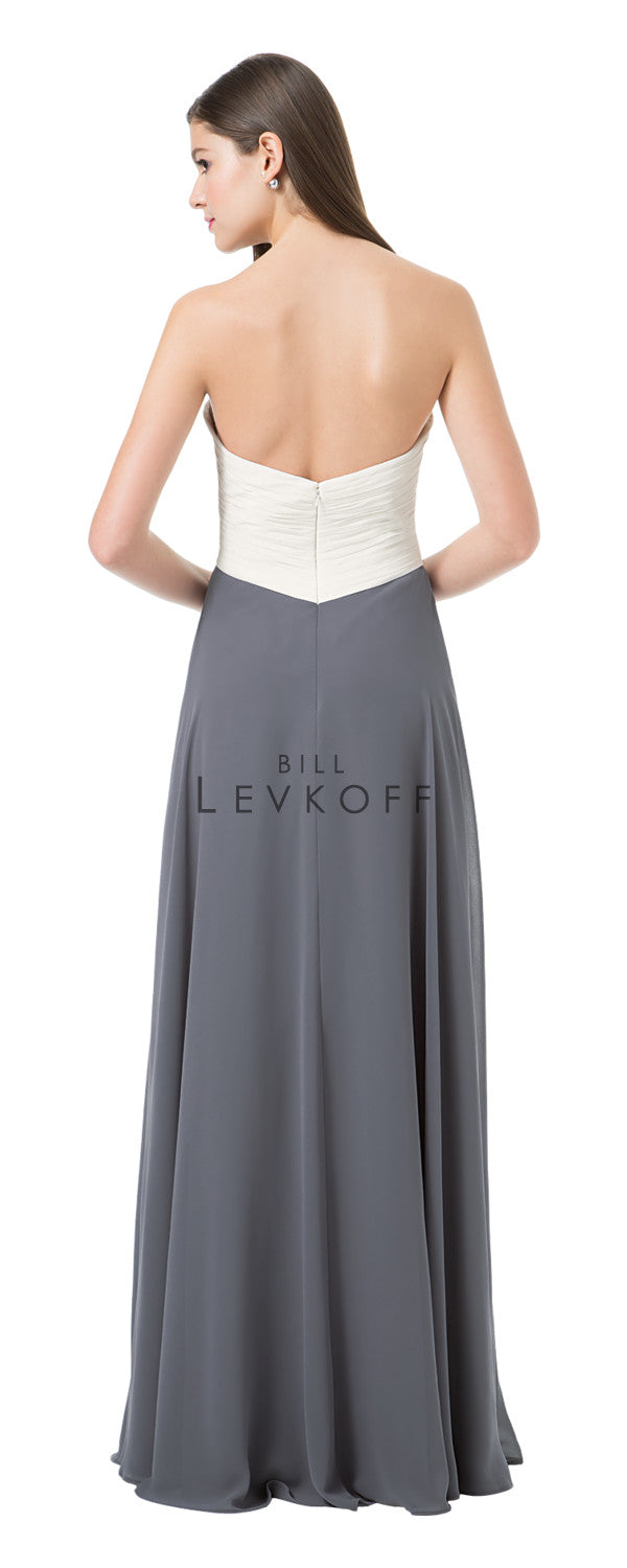 Bill Levkoff Bridesmaid Dress Style 1223 back