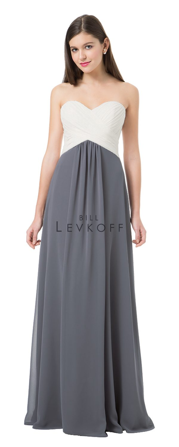 Bill Levkoff Bridesmaid Dress Style 1223 front