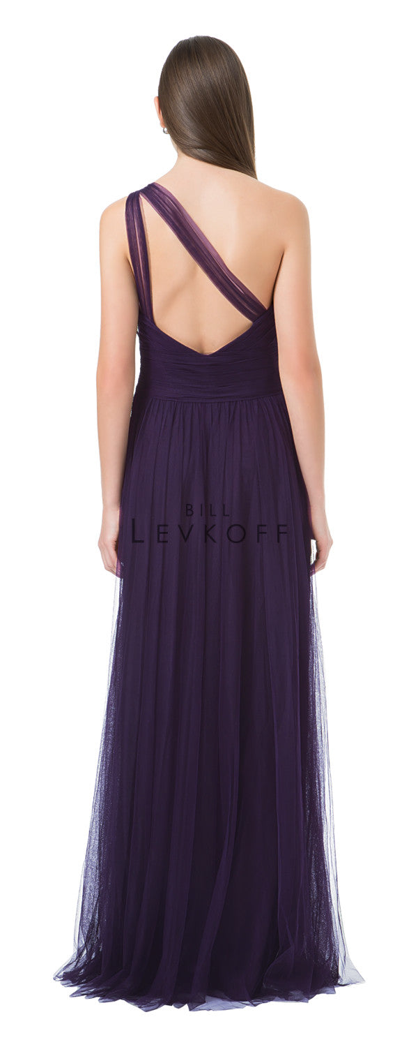 Bill Levkoff Bridesmaid Dress Style 1228 back