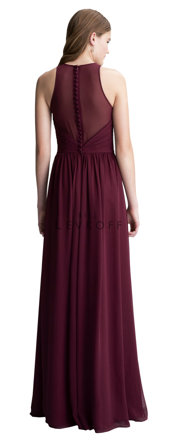 Bill Levkoff Bridesmaid Dress Style 1406 back