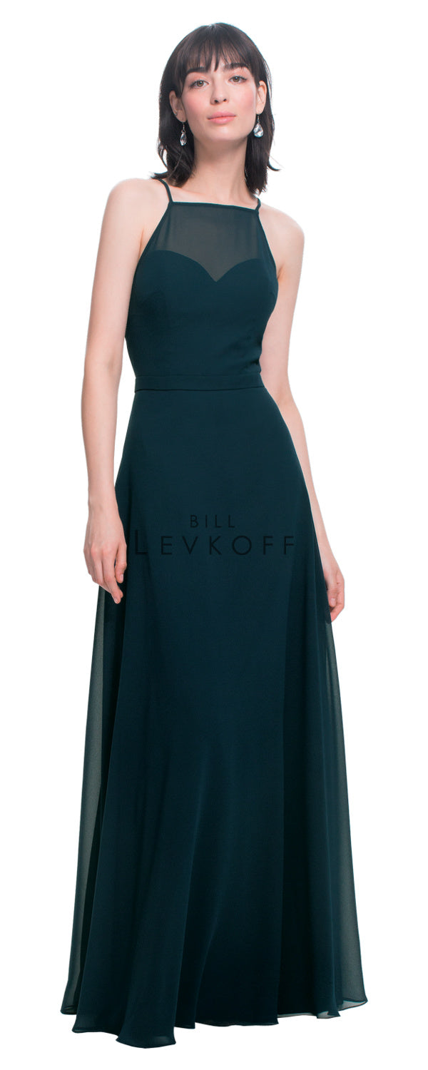 Bill Levkoff Bridesmaid Dress Style 1454 front
