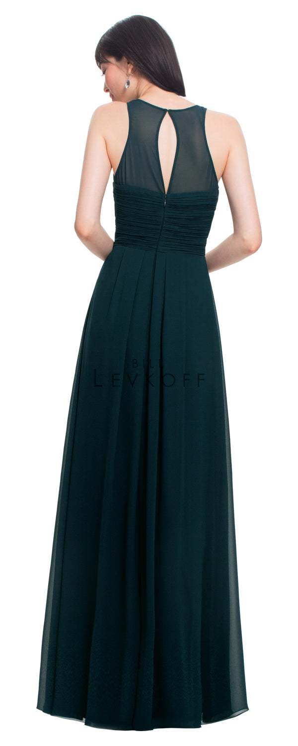 Bill Levkoff Bridesmaid Dress Style 1455 back
