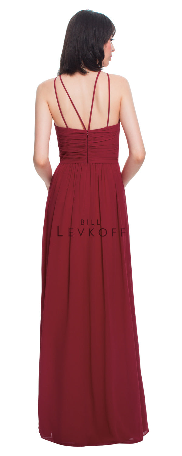 Bill Levkoff Bridesmaid Dress Style 1456 back
