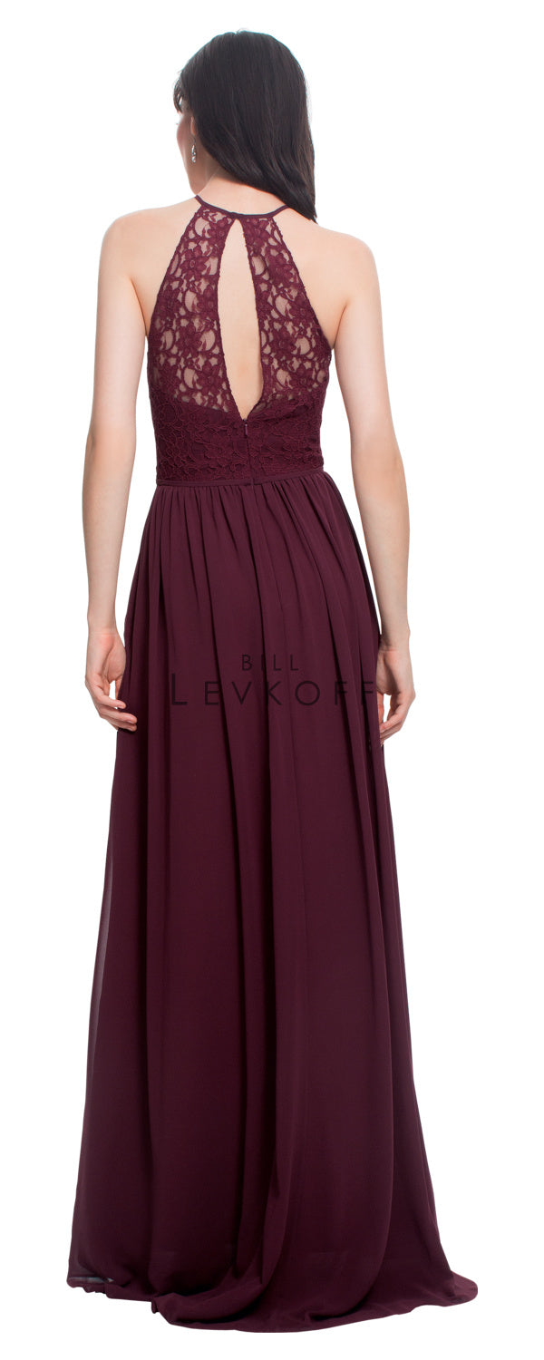 Bill Levkoff Bridesmaid Dress Style 1462 back