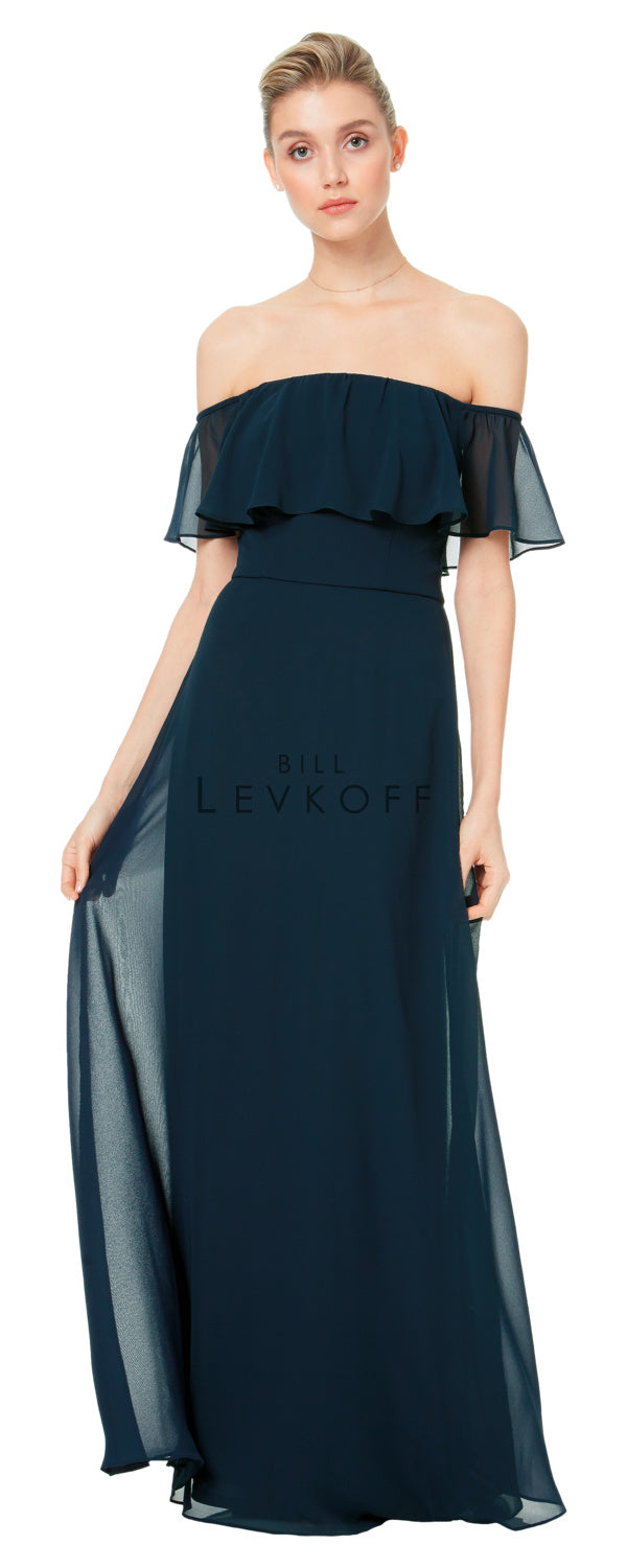 Bill Levkoff Bridesmaid Dress Style 1500 front