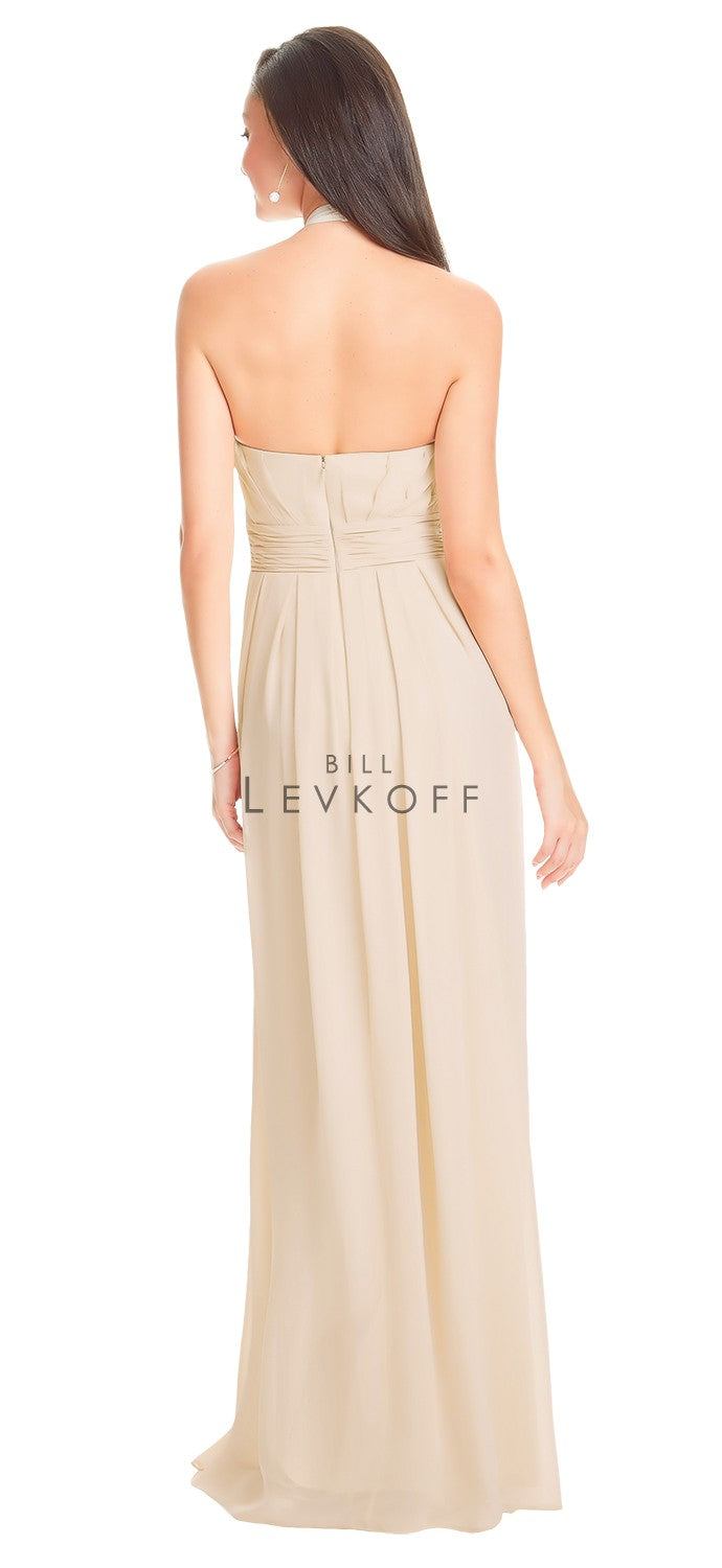 Bill Levkoff Bridesmaid Dress Style 1552 back