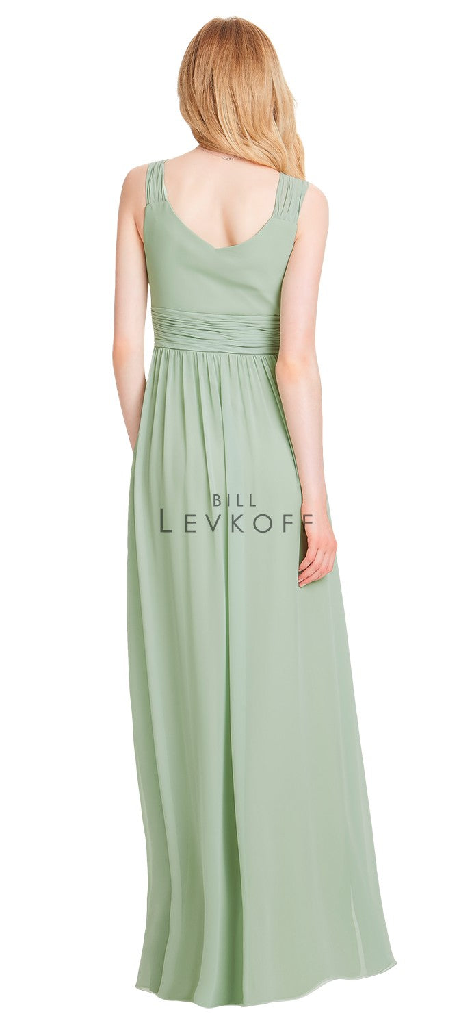 Bill Levkoff Bridesmaid Dress Style 1553 back
