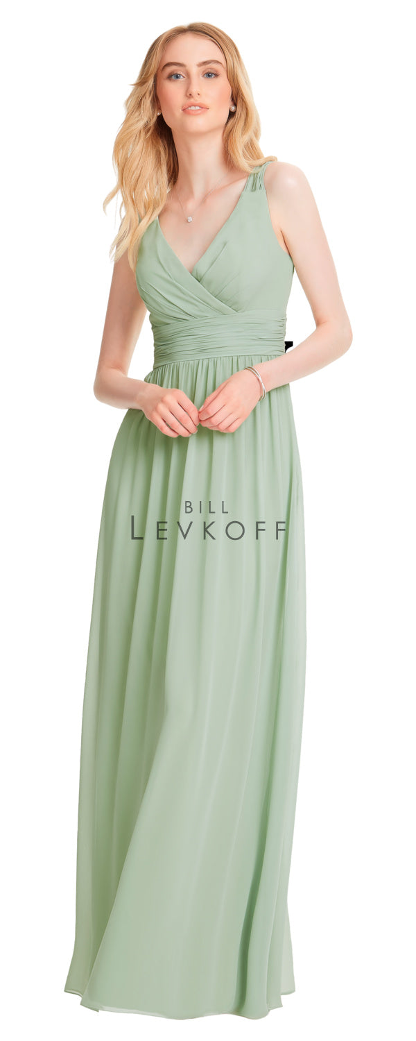 Bill Levkoff Bridesmaid Dress Style 1553 front