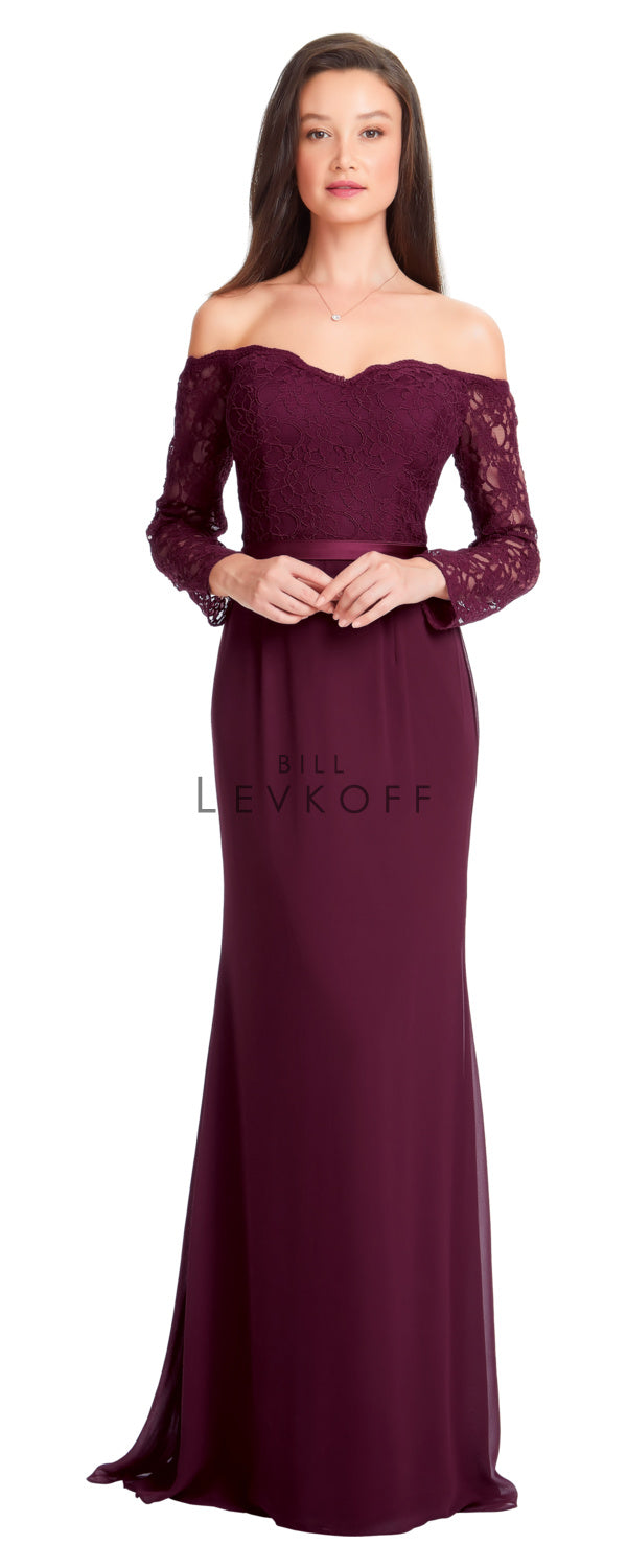 Bill Levkoff Bridesmaid Dress Style 1562 front