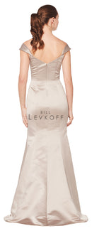 Bill Levkoff Bridesmaid Dress Style 1616 back