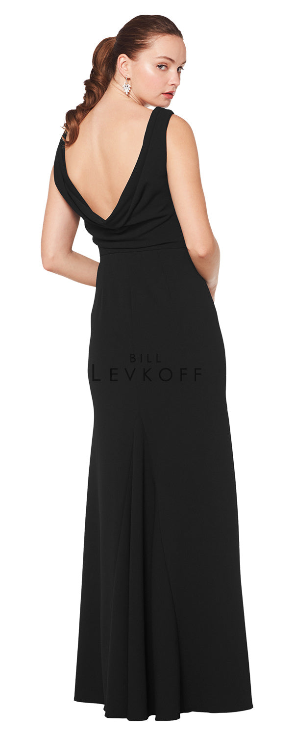 Bill Levkoff Bridesmaid Dress Style 1618 back