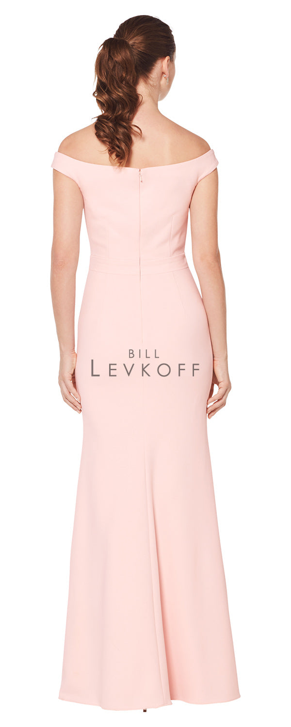 Bill Levkoff Bridesmaid Dress Style 1621 back