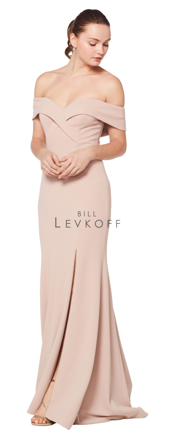 Bill Levkoff Bridesmaid Dress Style 1623 front