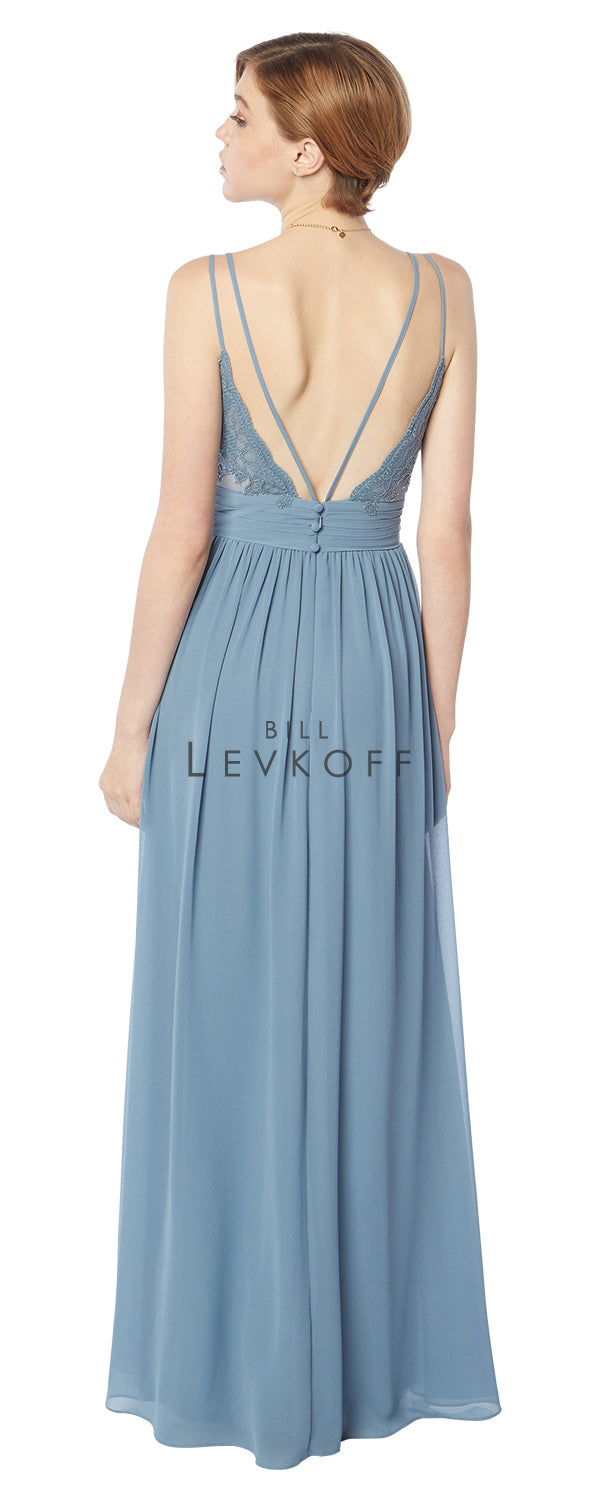 Bill Levkoff Bridesmaid Dress Style 1705 back