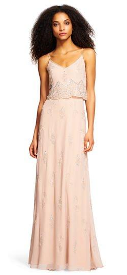 Adrianna Papell Bridesmaid Dress Style 181918900