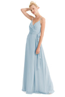 Joanna August Long Bridesmaid Dress Mandy