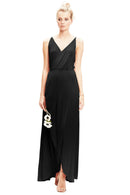 Black-Twobirds Bridesmaid Dress Lily