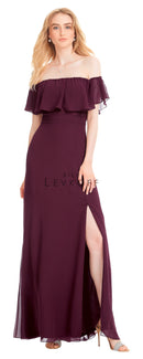 Bill Levkoff Bridesmaid Dress Style 1554 front