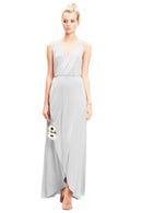 Silver-Twobirds Bridesmaid Dress Lily