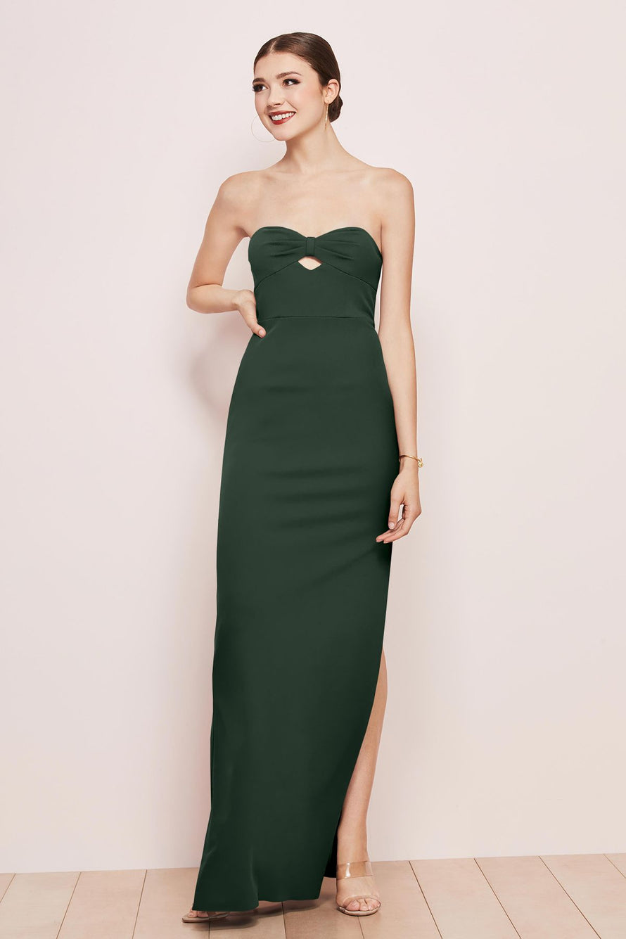 Watters Bridesmaid Dress Illiana Evergreen