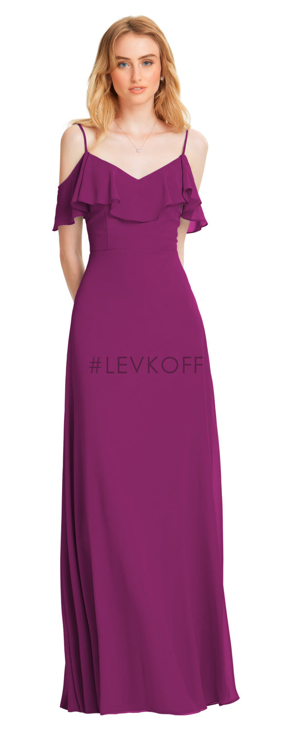 #LEVKOFF Bridesmaid Dress Style 7054