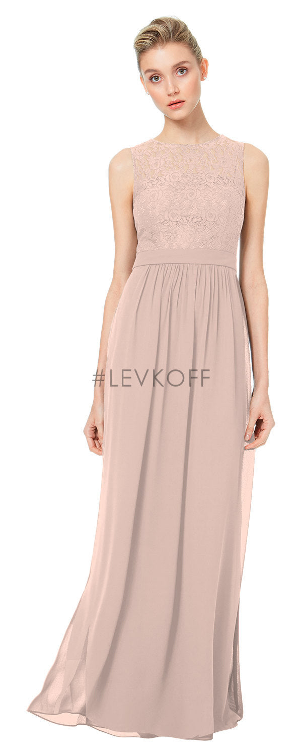 #LEVKOFF Bridesmaid Dress Style 7047
