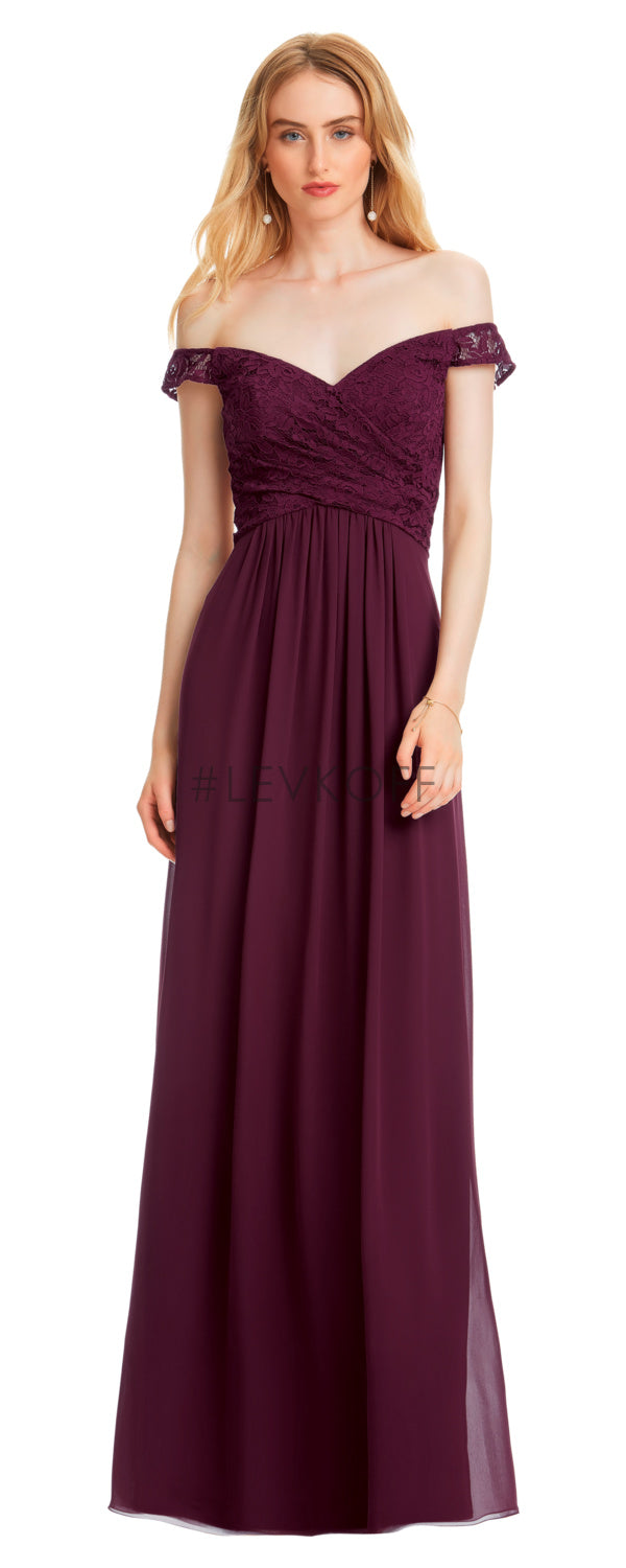 #LEVKOFF Bridesmaid Dress Style 7050 front