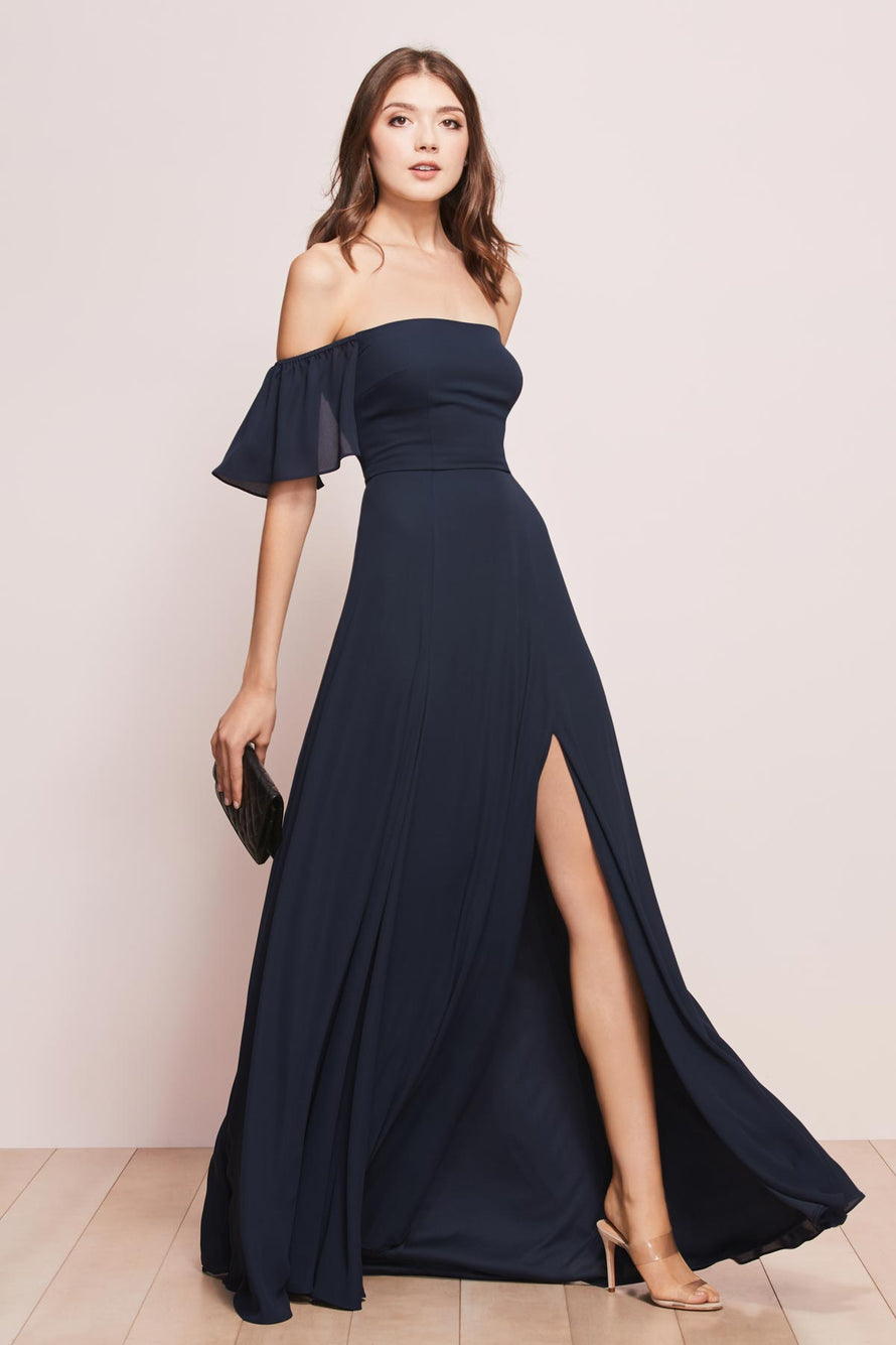 Wtoo by Watters Bridesmaid Dress Baylie front