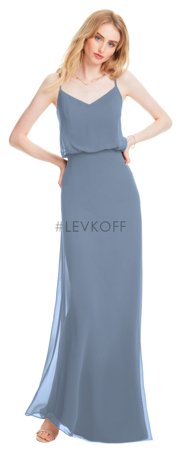#LEVKOFF Bridesmaid Dress Style 7058