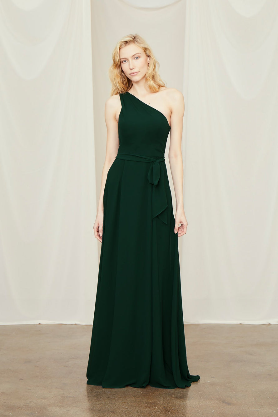 Amsale Long Bridesmaid Dress Laurie