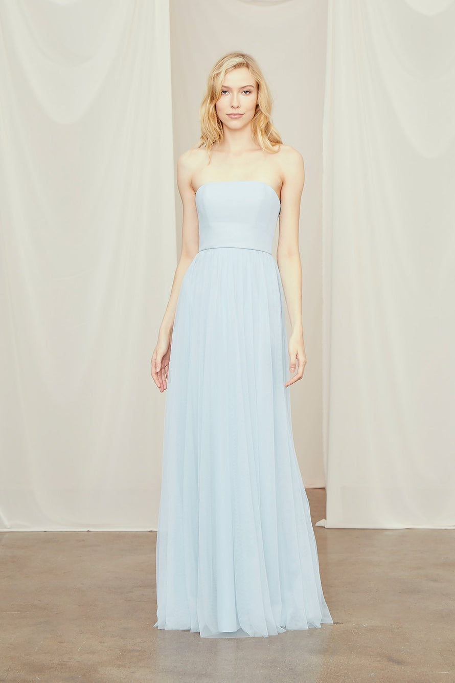 Amsale Long Bridesmaid Dress Lynton