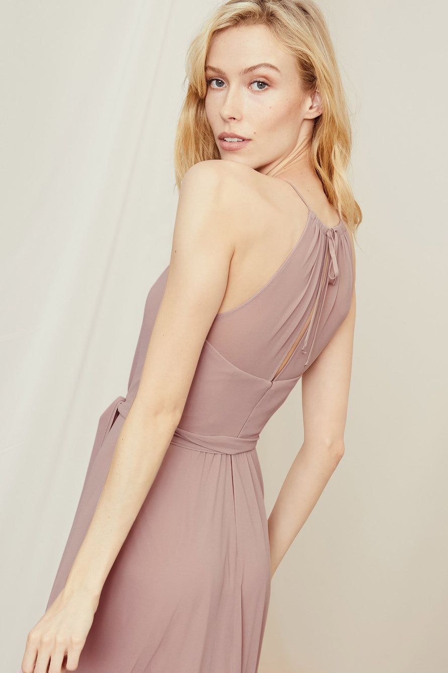 Amsale Long Bridesmaid Dress Kyra