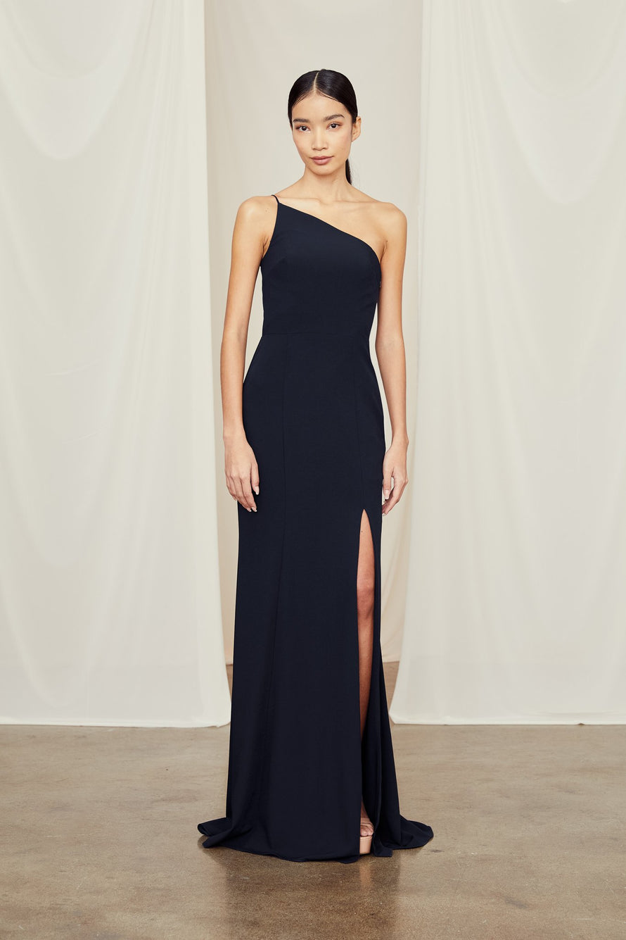 Amsale Long Bridesmaid Dress Sloan