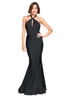 Bari Jay Bridesmaid Dress 2003 -Black